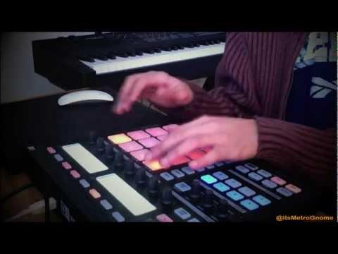 MetroGnome – House Beat Jamming on NI Maschine